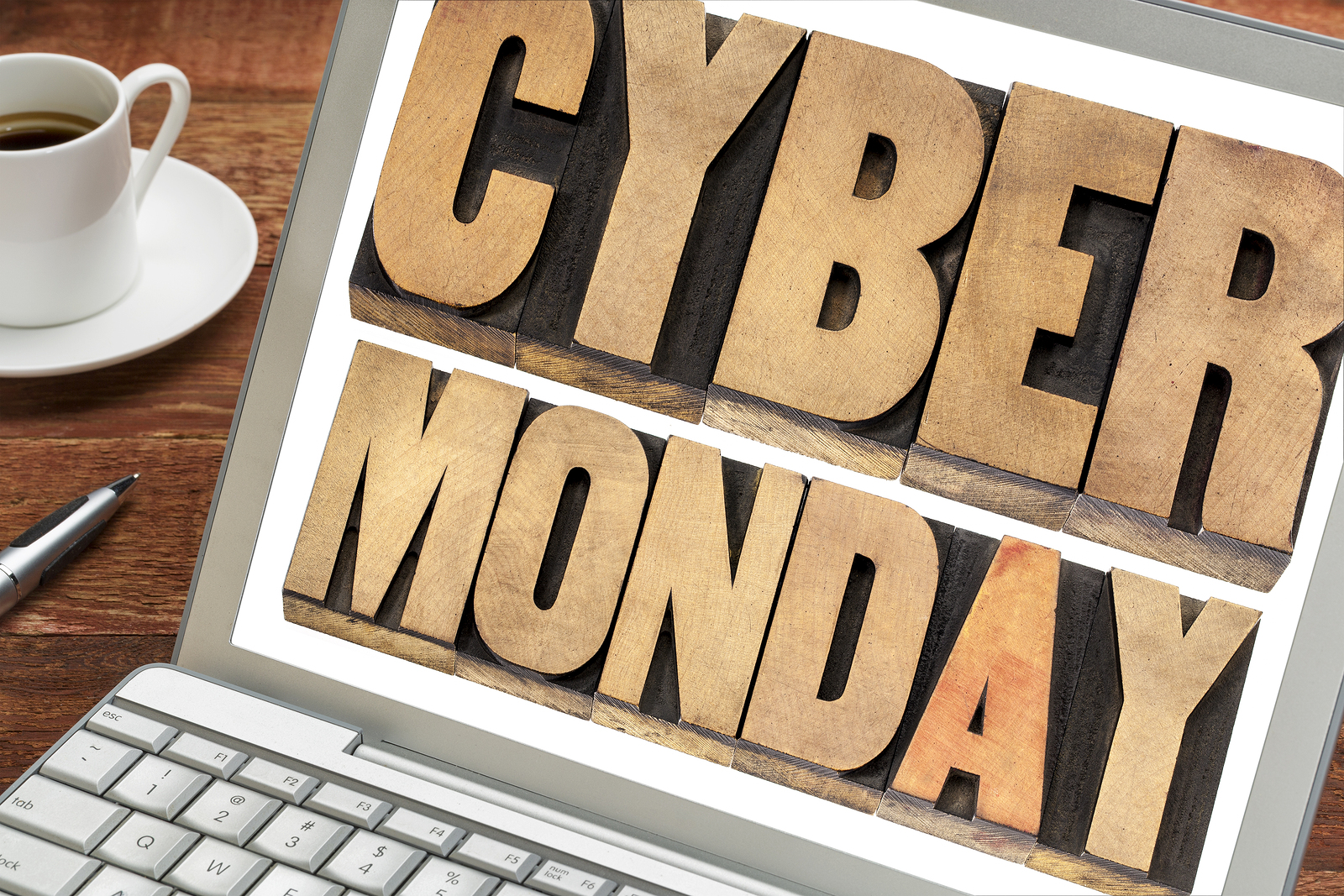 Cyber Monday - online shopping